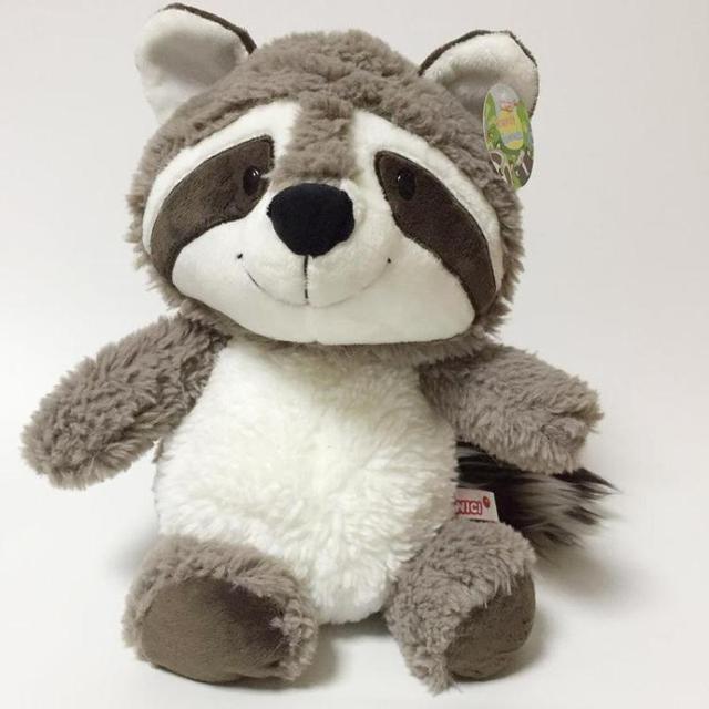 New Nici Cartoon Big Tail Raccoon Plush Toy Cute Soft Stuffed