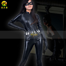 Batman The Dark Knight Rises Cat Woman Selina Kyle Jumpsuits Cosplay Costume Halloween Role-playing Costume