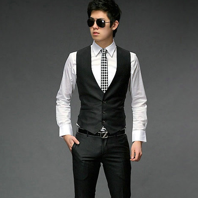 Free Shipping Mens Suits With Vests Suit Vest For Men