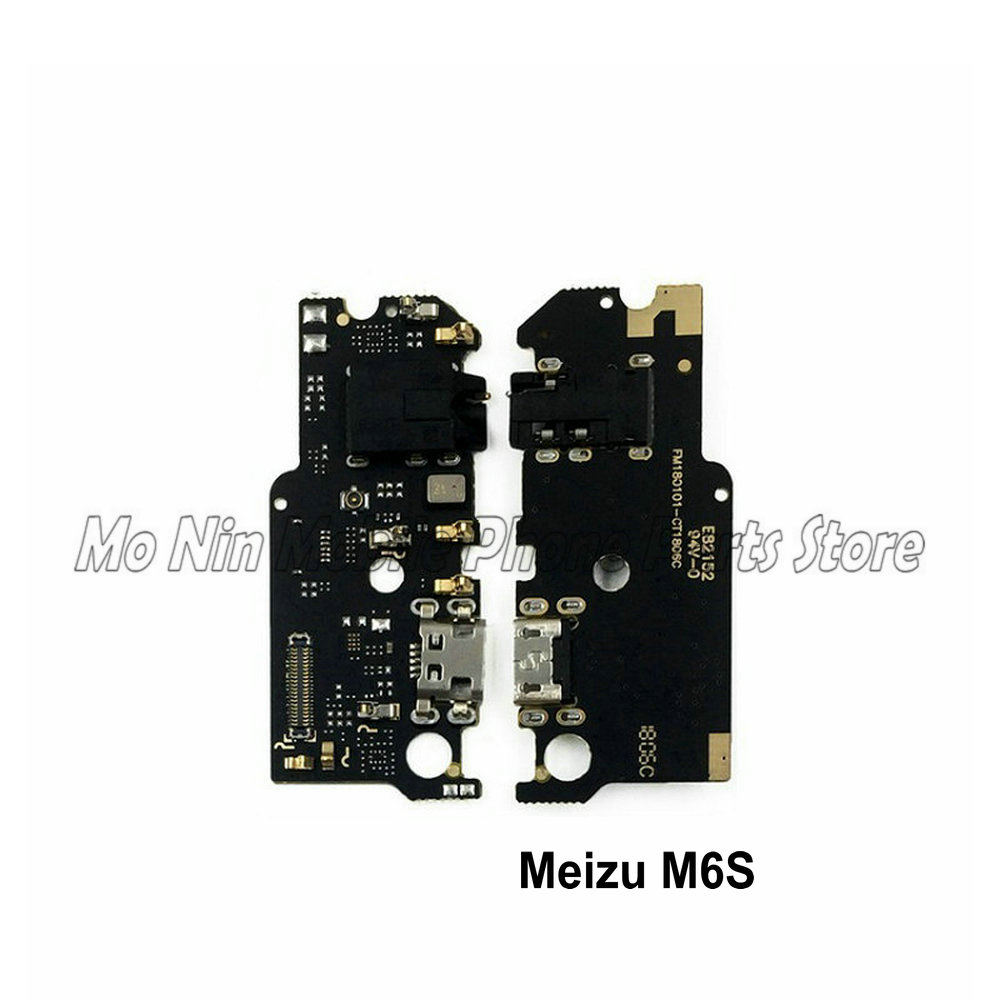 New Microphone Module+USB Charging Port Board Flex Cable Connector Parts For Meizu M6S Meilan S6 Replacement