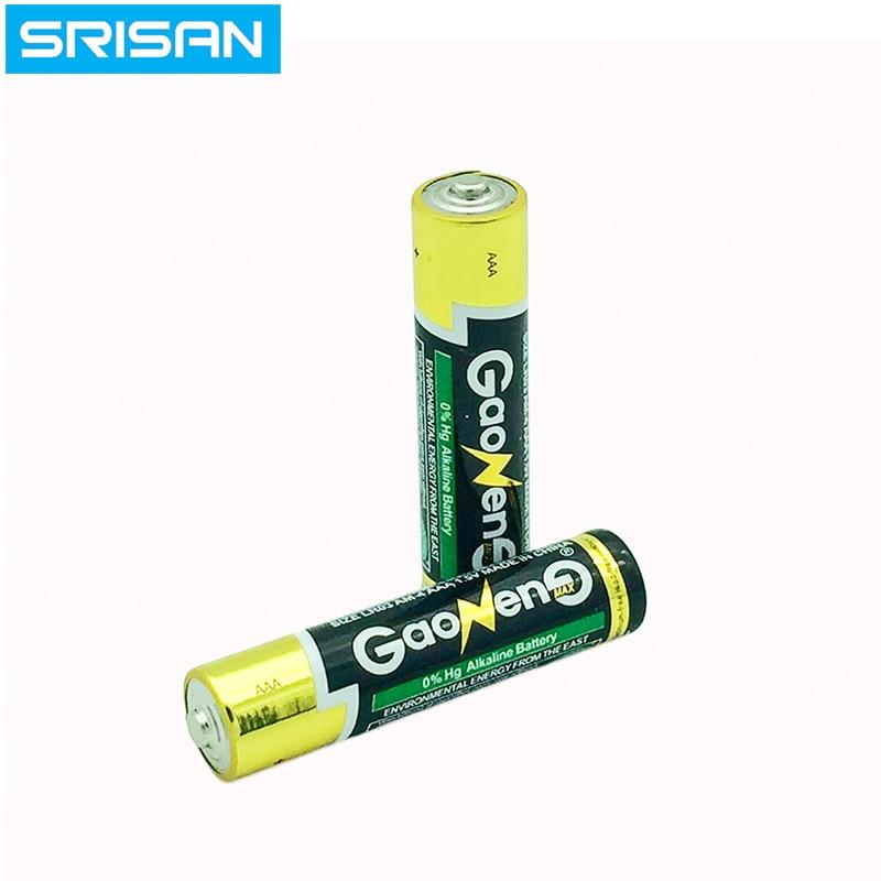 SRISAN New 12PCS lot 12x Bateria 1 5V AAA Battery Alkaline Batteries AAA batteries Environmental protectio