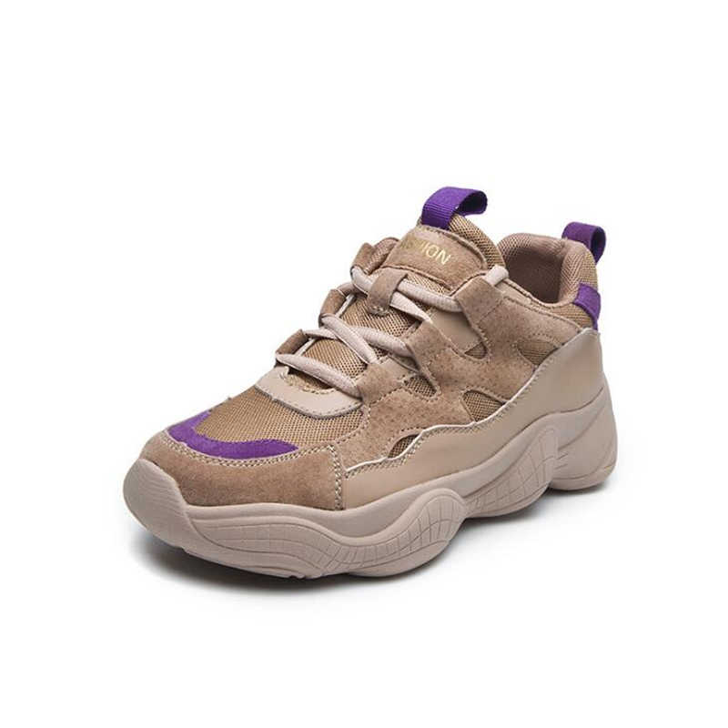 Для женщин кроссовки женские Повседневное Модная брендовая женская обувь на платформе; женская обувь класса люкс; женские белые туфли на плоской подошве, сапоги на танкетке среднего размера на обувь A38