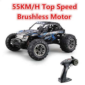 Extreme Drift Electric RC Car 1/16 Scale 55km/h Brushless 4WD RC Off-road Vehicle High Speed Remote Control Racing Car Model image