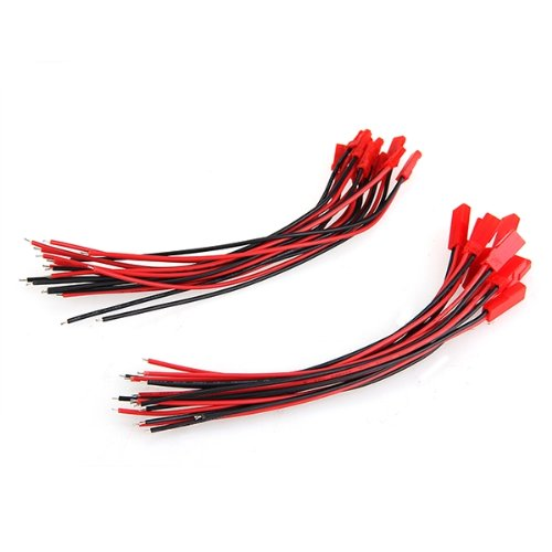 Promotion! 10 Pairs 150mm JST Connector Plug Cable Male+Female for RC Battery