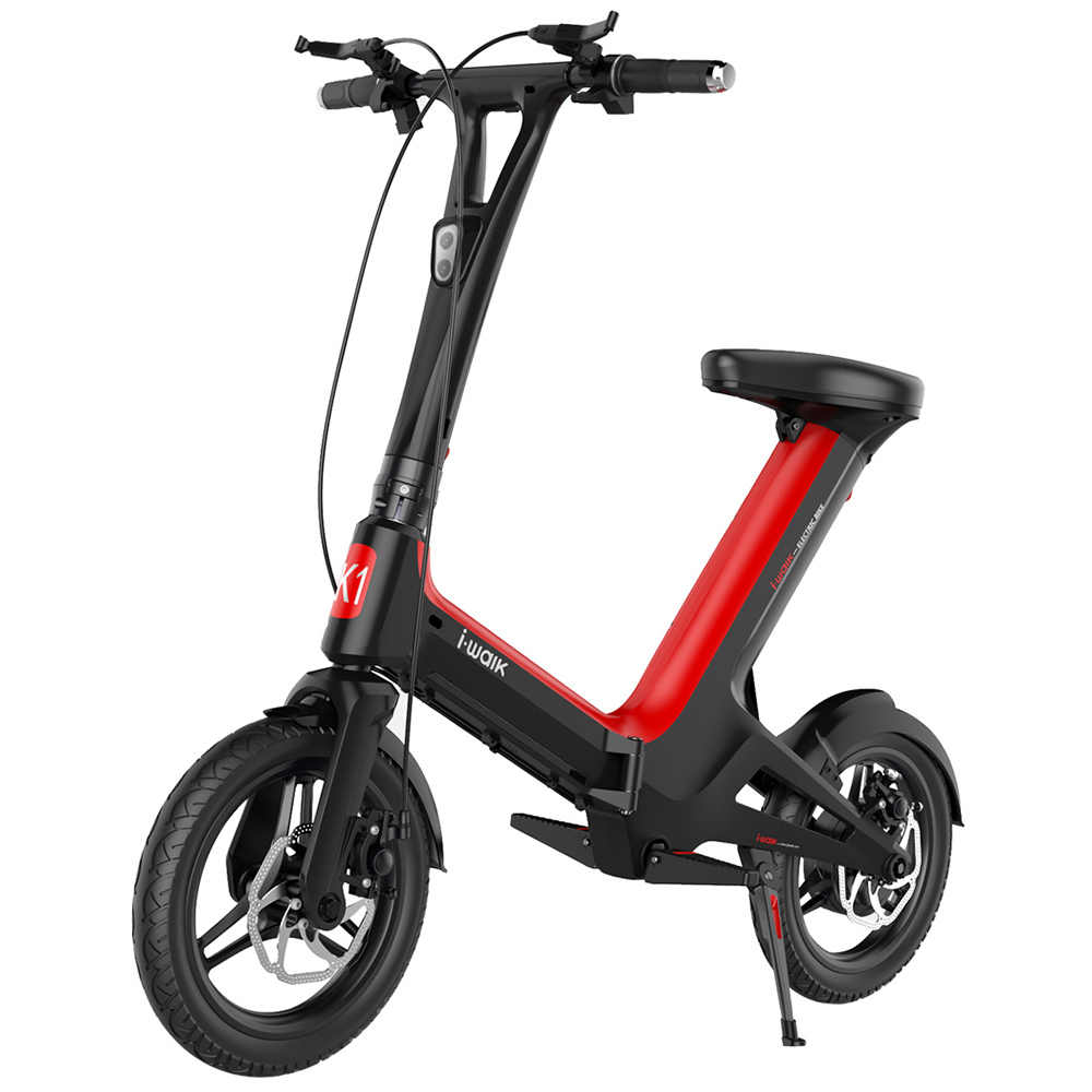 672ebbbf0ed Daibot Mini Electric Bike Two Wheel Electric Scooters With APP Bluetooth  Speaker 14 Inch 350W Electric