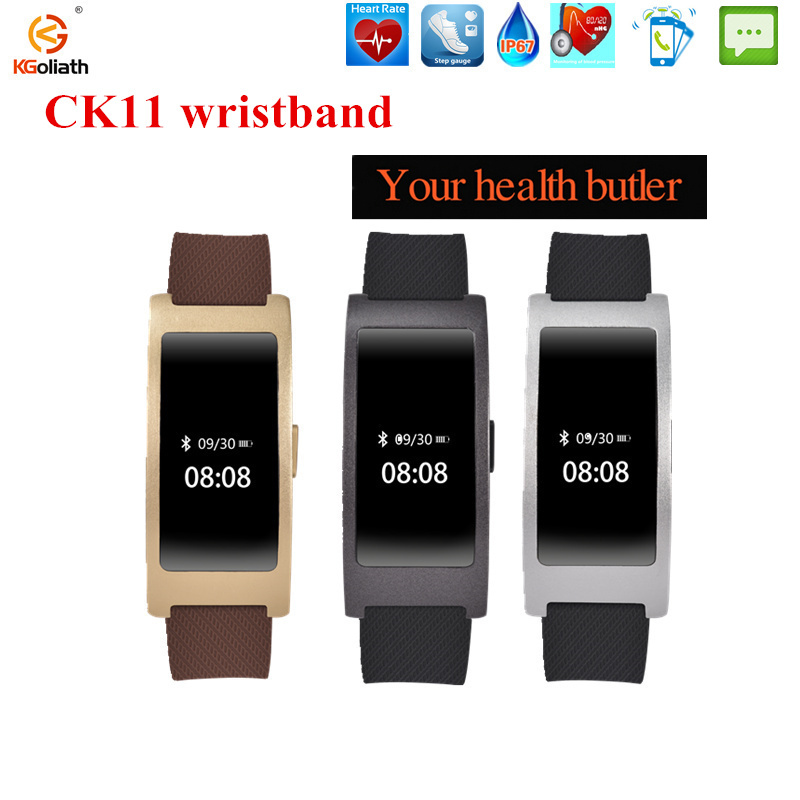 CK11 Smart Band Blood Pressure Heart Rate Monitor sport smart Bracelet for android Fitness bracelet Tracker