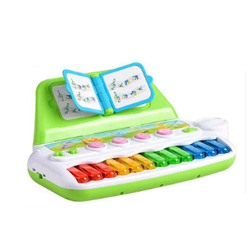 Jouets pour enfants bébé Instrument de Piano Musical jouets Piano électrique bébé début d'apprentissage éducatif multi-fonction jouet de loisirs électronique - 3