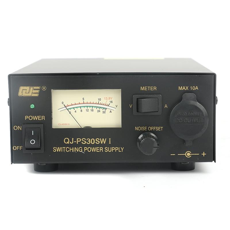 PS30SWI 13 8V 30A Adjustable Switching DC Power Supply For Vehicle Station Vehicular Radio Ham Radio