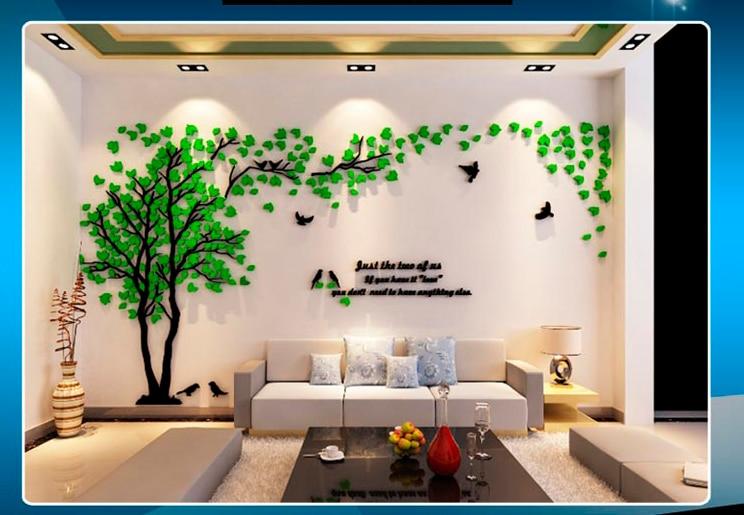 Aliexpress.com : Buy Leaves Birds Crystal Three