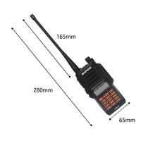 cb רדיו החדש Baofeng UV-9R פלוס מכשיר הקשר Waterproof 8W UHF VHF Band Dual 36-174 / 400-520MHz Ham CB רדיו FM סורק משדר (4)