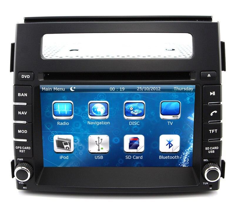 2 Din Head Unit Car Dvd Player Gps Navigation For Kia Soul