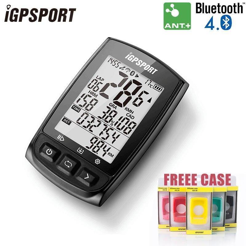 IGPSPORT IGS50E GPS ordinateur cyclisme ANT + vélo ordinateur sans fil compteur de vitesse numérique odomètre rétro-éclairage IPX6 ordinateur étanche
