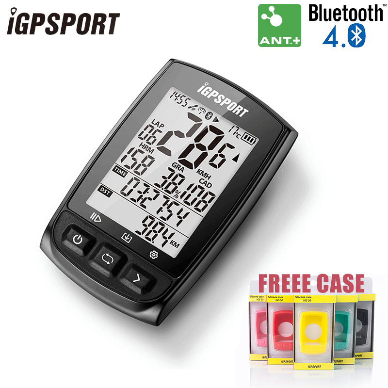 iGPSPORT IGS50E GPS Computer Cycling ANT+ Bike Wireless Computer Digital Speedometer Odometer Backlight IPX6 Waterproof Computer