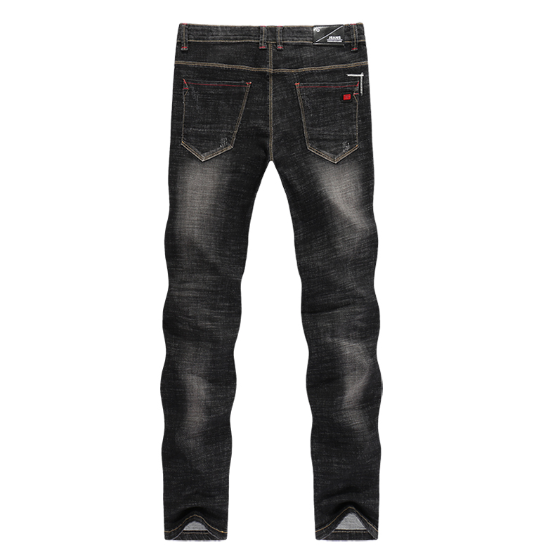 Men's Jeans 2020 Mens Black Jeans Slim Fit Stretch Autumn Denim Casual Quality Pants Business