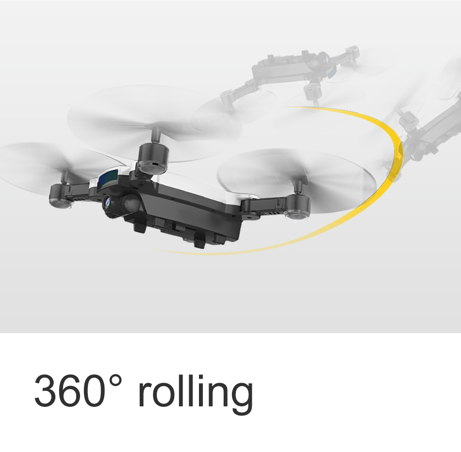 SMRC S6 RC Mini drone Professional Smart follow me Helicopter wifi drones with camera HD FPV 7P pocket Helicopter toys child 16