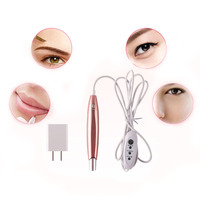 1 Zestaw Różowy Długopis Kosmetyki Do Makijażu Permanentnego Brwi Eyeliner Lip Tattoo Machine Tool Kit Promocja Cena