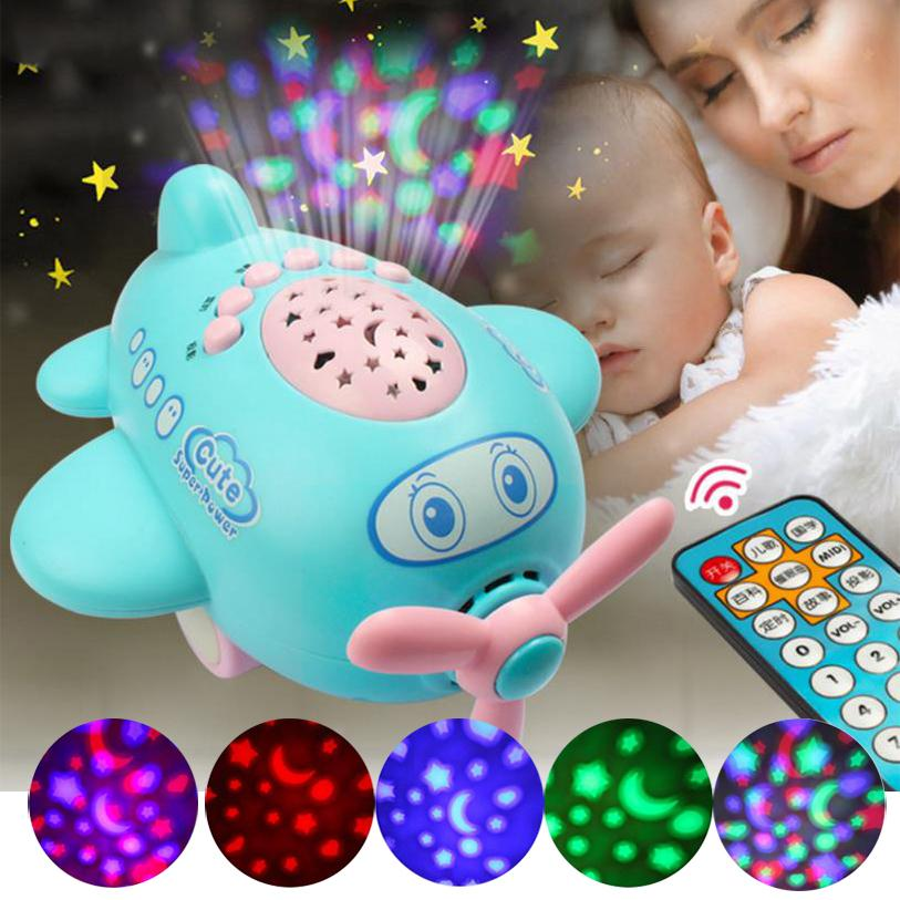 Baby-Music-Projector-Sleeping-Story-Projector-Light-Night-Lamp-Aircraft-Appease-Plane-Toy-Multifunction-Projectors-1