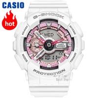 Часы Casio G SHOCK Мужские и женские кварцевые спортивные часы тренда уникально водонепроницаемые двойные дисплей нейтральные часы g shock Часы