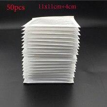 (11 * 11cm + 4cm) White Bubble Envelope Bubble Bag Bubble Film Envelope Shock Bag 50pcs