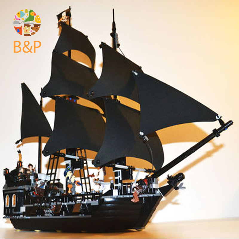 Lepin 16006 804pcs building bricks Pirates of the Caribbean the Black Pearl Ship model Toys Gift Compatible Leoging 4184 waz compatible legoe pirates of the caribbean 4184 lepin 16006 804pcs the black pearl building blocks bricks toys for children