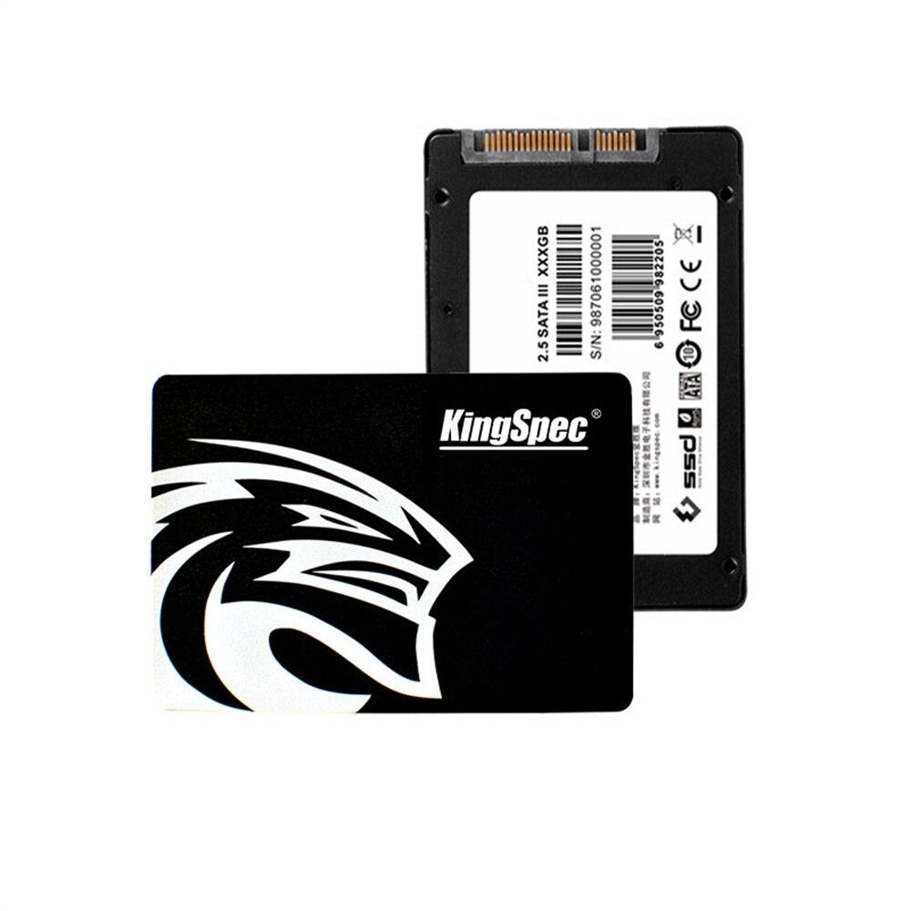 KingSpec SATA3 HDD 120GB 180GB 360GB disque SSD interne à semi-conducteurs 2.5 pouces disque dur pour ordinateur portable