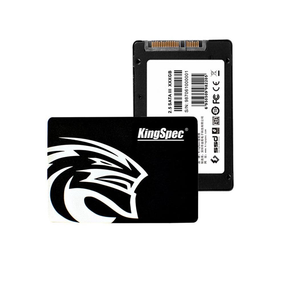 KingSpec SATA3 HDD 120 GB 180 GB 360 GB disque SSD interne à semi-conducteurs 2.5 pouces disque dur pour ordinateur portable