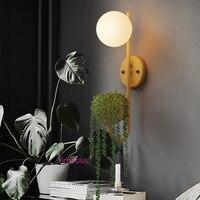 Современный кабинет гостиная креативный настенный светильник спальня зеркальное освещение романтический ресторан кафе бар проход растен