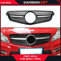 Diamond Auto bumper replacement parts Front grill mesh for Mercedes 2007-2014 C180 C200 C250 C350 C400 C450 C220 C250 C300 W204