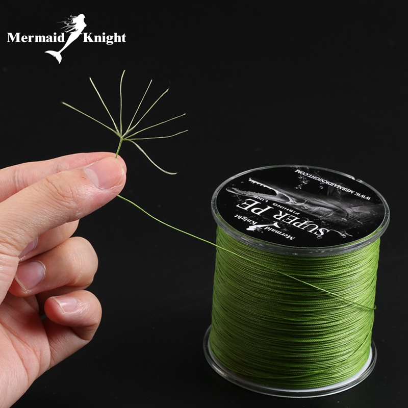 MK Band Super PE 300M 8 Wire Multifilament Line Lure Flettet Cord For Fiske Linha De Pescar Ocean Boat And Beach Fishing