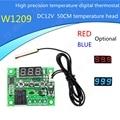 W1209 DC 12 В тепла круто температура термостат переключатель регулирования температуры регулятор температуры термометр 50 СМ термоконтроллер