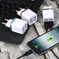 IN STOCK! Universal 4 Ports USB Travel Wall Charger Multi Power Adapter Pack EU Plug For Various USB Devices DC 5V- 5100mA