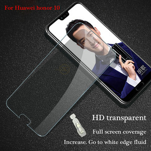 Image 2 - 2Pcs/lot 9H Tempered Glass For Huawei Honor 10 V20 V10 Screen Protector Toughened protective film For Huawei Honor View 10 V20