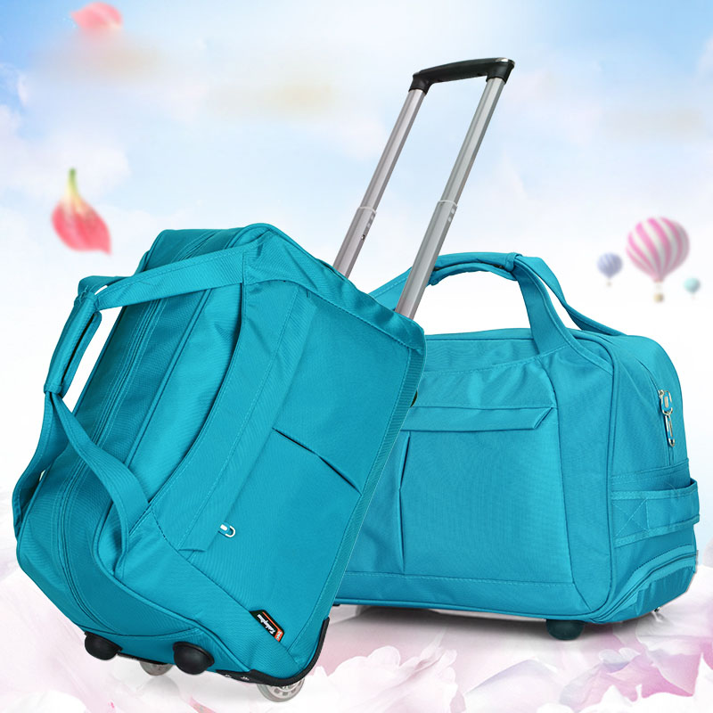 c62aed27c8de Fashion Travelbag Tourism Women And Men Travel Bags Trolley Travel Bag With  Wheels Rolling Carry on Luggage Bags Wheeled Bolsas-in Travel Bags from  Luggage ...