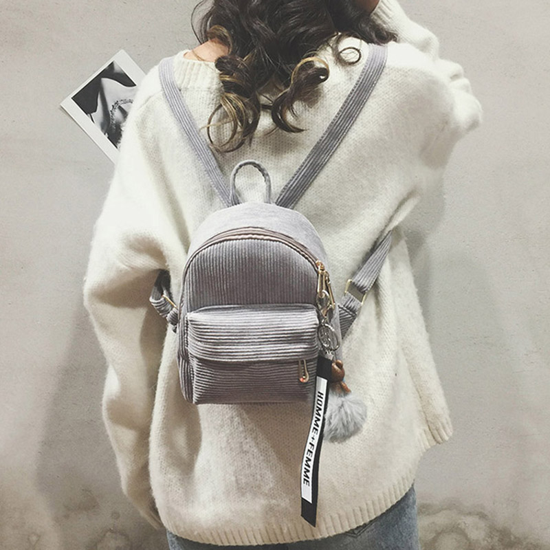 Women Lady Backpack Shoulder Bag Zipper Mini Durable Fashion Package High Capacity New