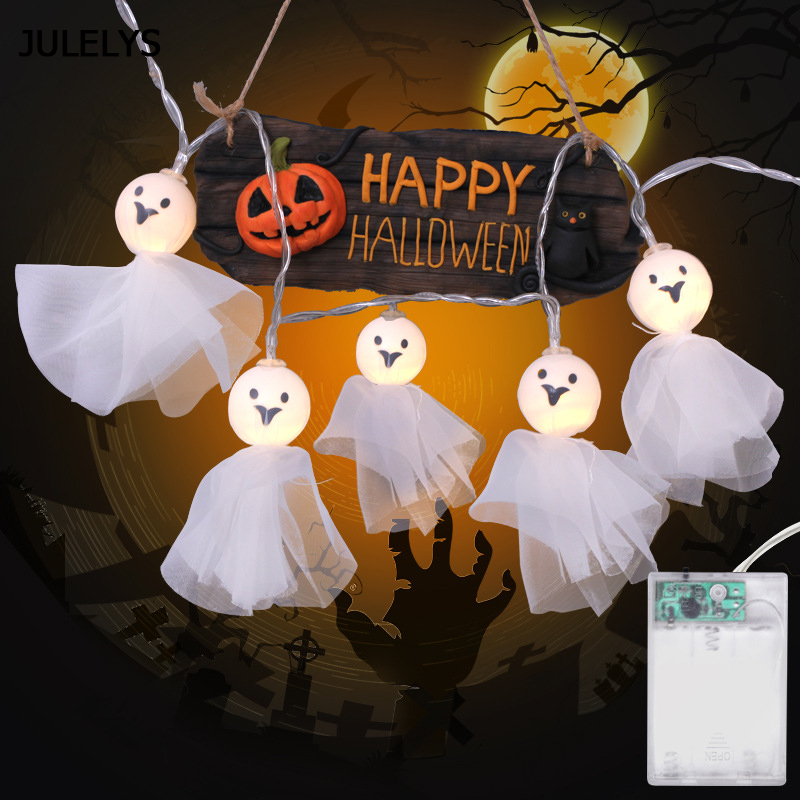 5M 40 Bulbs Battery Fairy Lights LED Halloween Lights Garland Christmas Decorations Holiday Party Sunny Doll String Lights