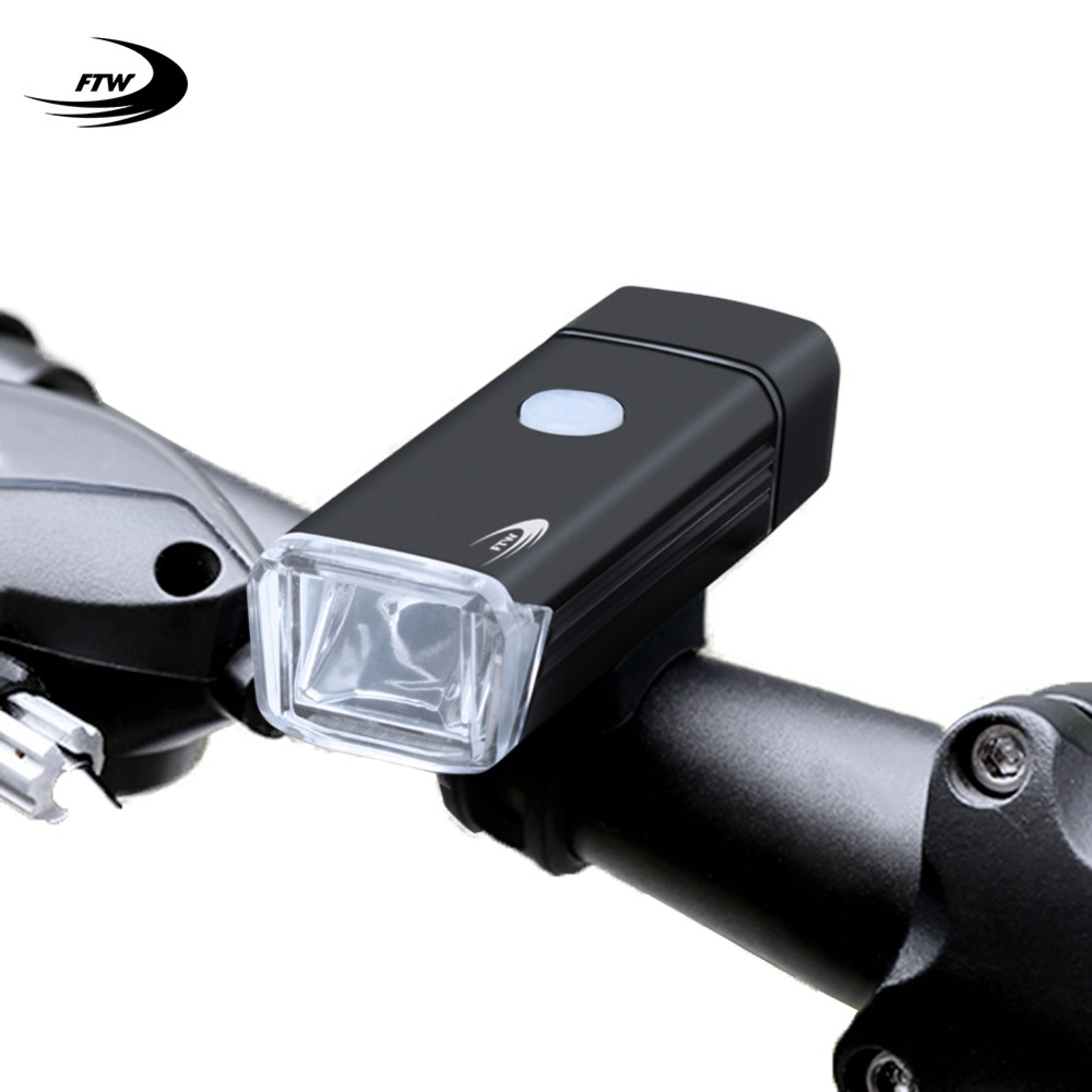 USB Rechargeable Bike Headlight LED Bicycle Front Head Lamp Light