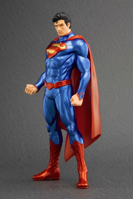 Free Shipping 8 DC Superheroes JLA the NEW 52 Superman Boxed 20cm PVC Action Figure Model Collection Toy Gift Decoration grant morrison superman action comics vol 3 at the end of days the new 52