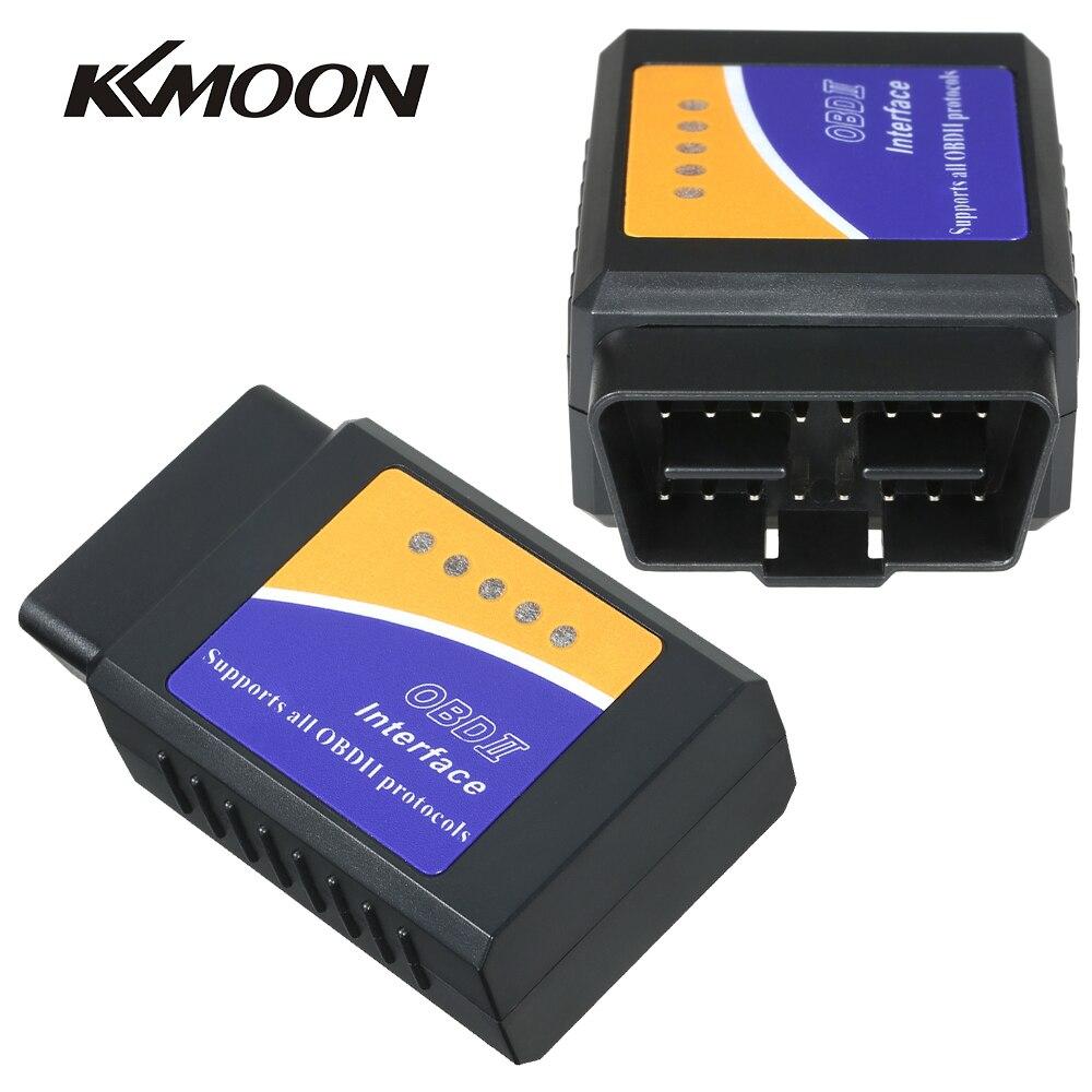 Kkmoon ELM327 V2 1 Bluetooth Auto Scanner OBDII Car Diagnostic Tool OBDII OBD 2 for Toyota Ford Peugeot BMW Mercedes Benz