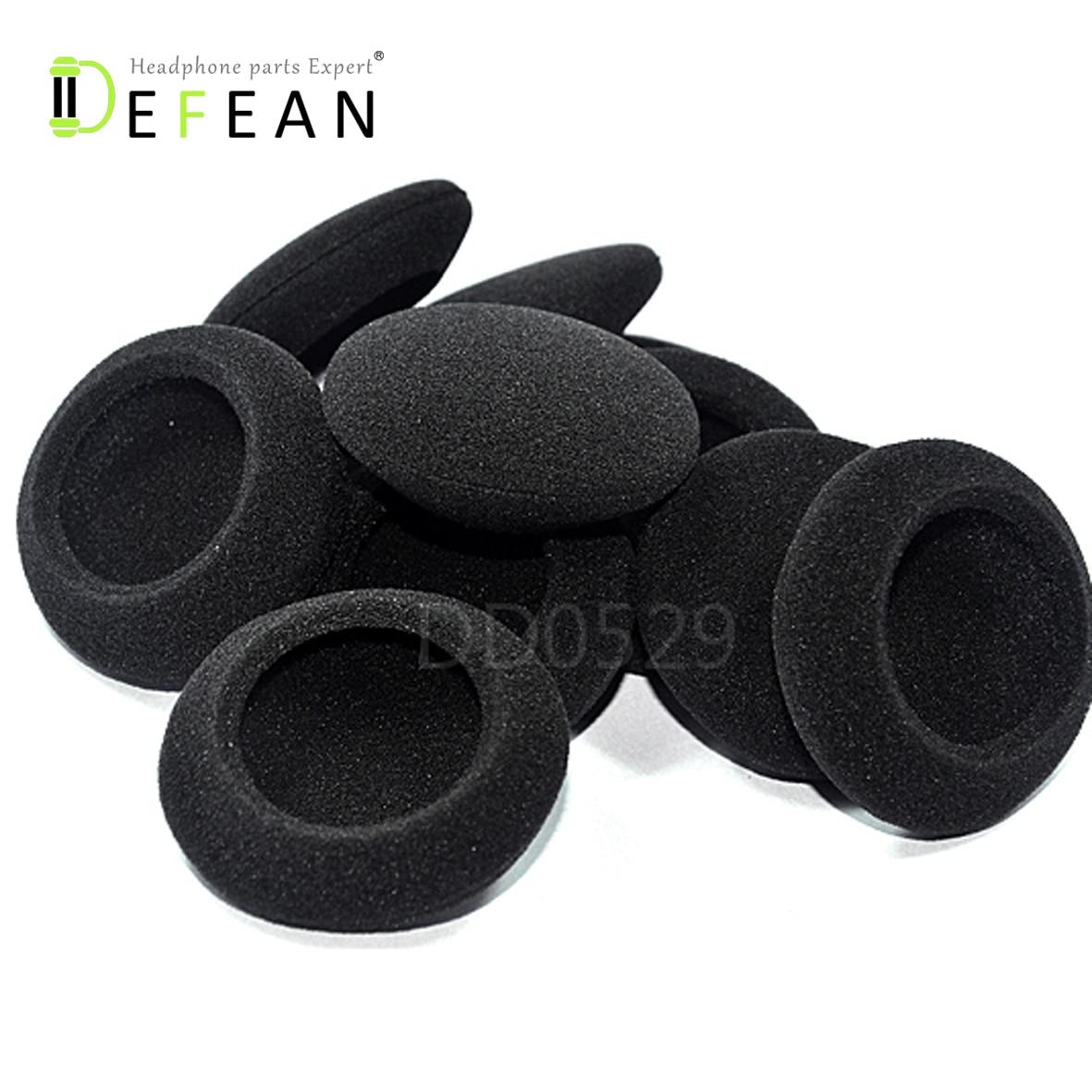 8 pairs 45mm foam ear pads sponge earpads headphone cover for headset 1.77 inch