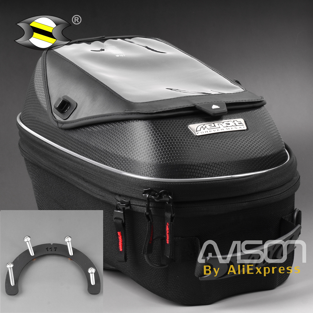 3D Tanklock Tank Bag Fit for Ducati Multistrada 1200 2010-15 Big Screen Motorcycle Oil Fuel Tank Bike Saddle Bag Motorcycle Bag