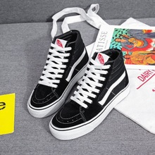 2019 new shoes fashion street shooting flat high-top canvas shoes classic casual tide shoes