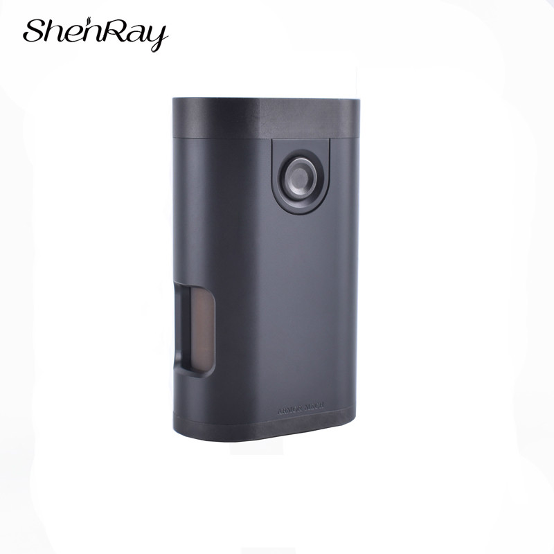 ShenRay Armure Fond Alimentation Mécanique Mod Squonk Boîte Mod 8 ml Buttom D'alimentation Bouteille Fit 18650 Batterie 510 RDA Atomiseur réservoir