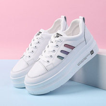Thick-soled white shoes female 2019 summer new wild student