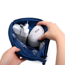 Organizer System Kit Case Portable Storage Bag Digital Gadget Devices USB Cable Earphone Pen Travel Cosmetic Insert New 2018