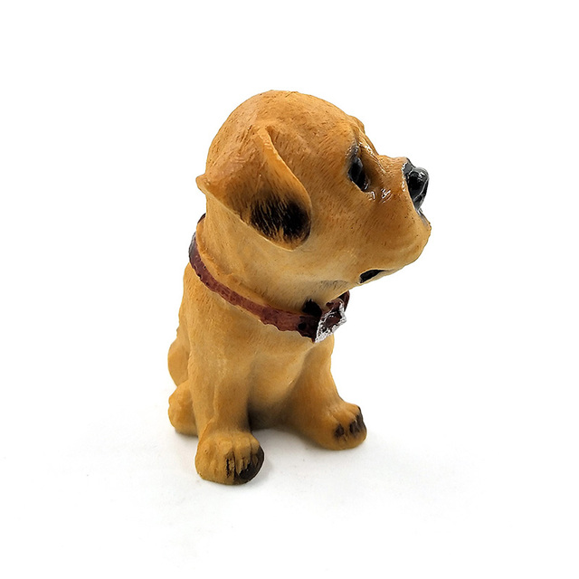 1pc Famous Dogs Model puppy Status Home Office Car ornament Decor Cartoon Figurines People Animal statue resin craft TNJ016 4