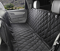 רכב החדש לחיות מחמד מושב מושב מכסה ספסל אחורי עמיד למים 600D אוקספורד אבזרים לרכב פנים נסיעות מושב מכסה מכונית מחצלת חיות כלב