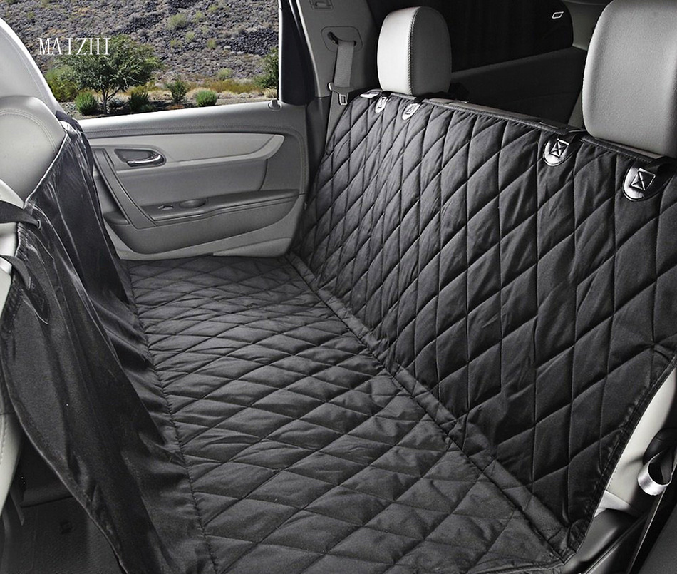 New Car Pet Seat Covers Waterproof Back Bench Seat 600d