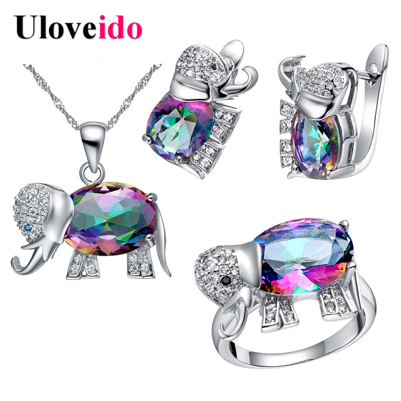 Uloveido Elephant Baby and Kids Jewelry s