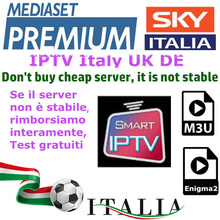 IPTV M3U Enigma2 IPTV Italy UK Germany Belgium France Spain Bein Sport Channels sky Mediaset Premium For Android Box SmartTV