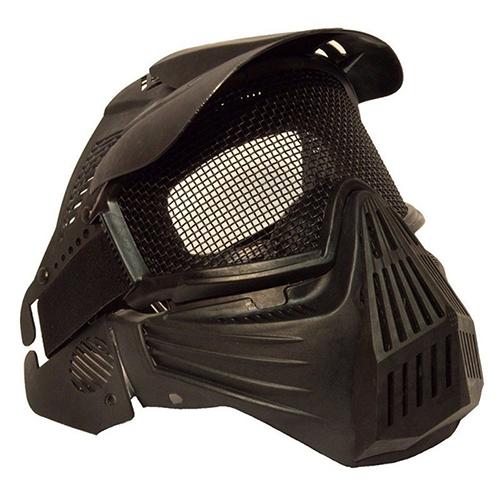 Tactical Airsoft Pro Máscara de Cara Completa con Malla Metálica de Seguridad Gafas de Protección